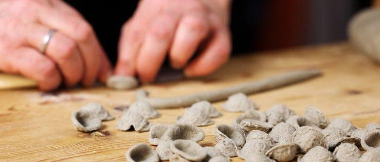 Prodotto tipico cucina regionale pugliese: strascinati