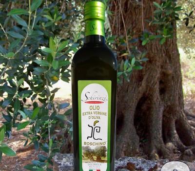 Schirinzi presenta l'extra vergine di oliva Boschino