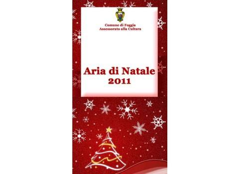 Aria di Natale 2011 a Foggia