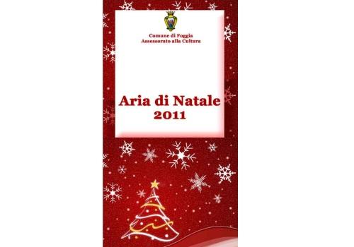 Aria di Natale 2011