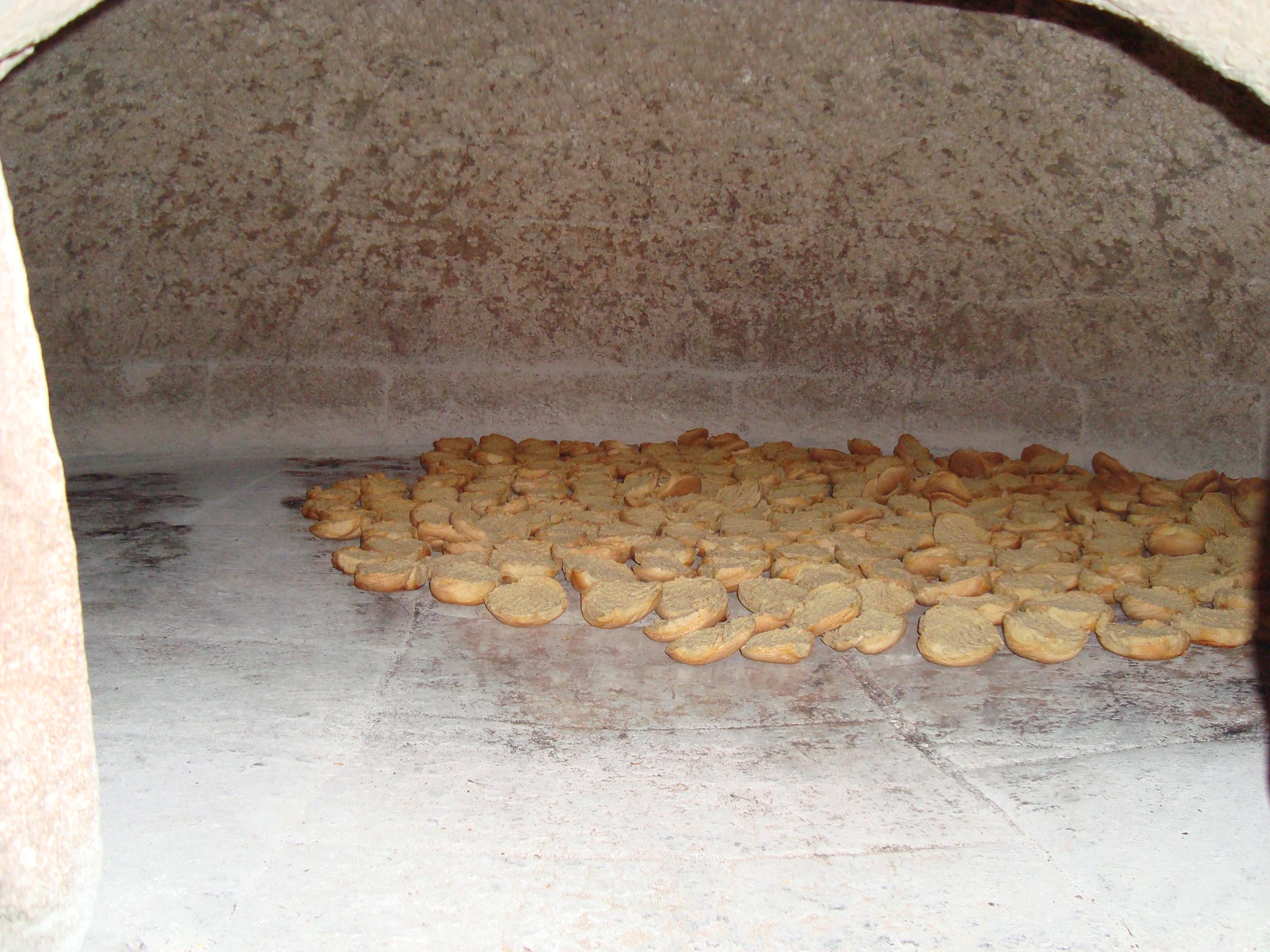 Friselle nel forno