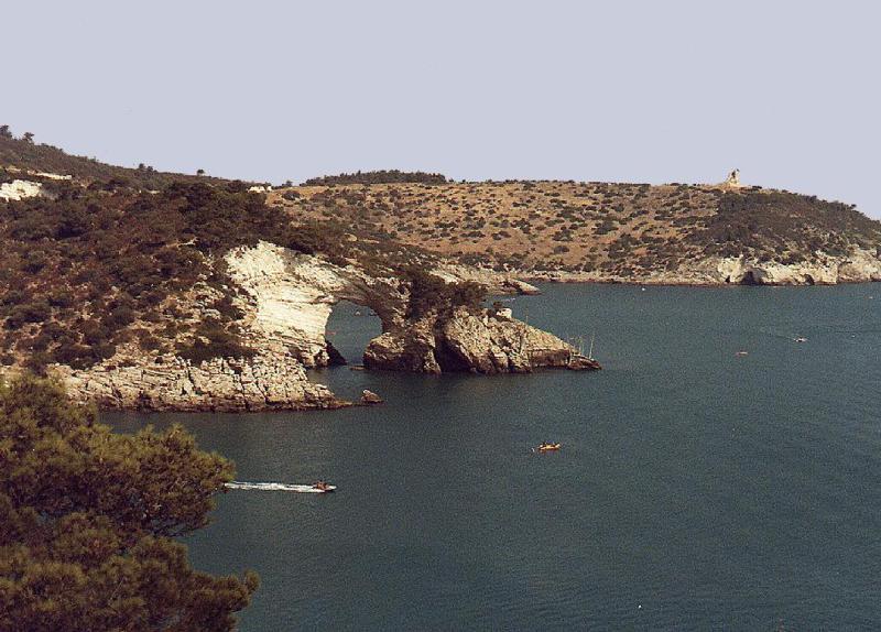 Vista mare sul Gargano