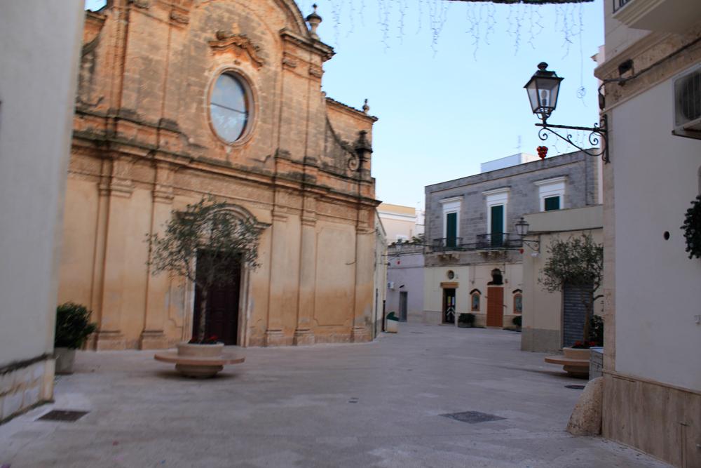 Piazza pugliese