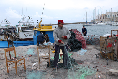 Pescatore di Gallipoli