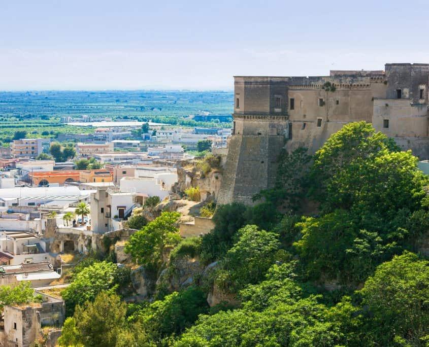 Massafra-castello