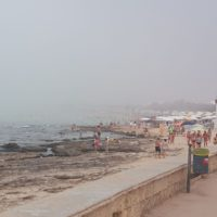 Nebbia in Puglia