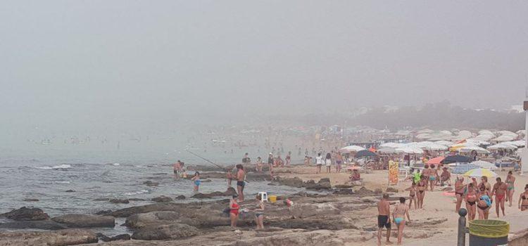 Caldo e…nebbia in Puglia