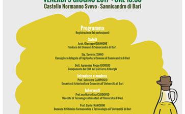 Il convegno Oleum Sapiens a Sannicadro di Bari