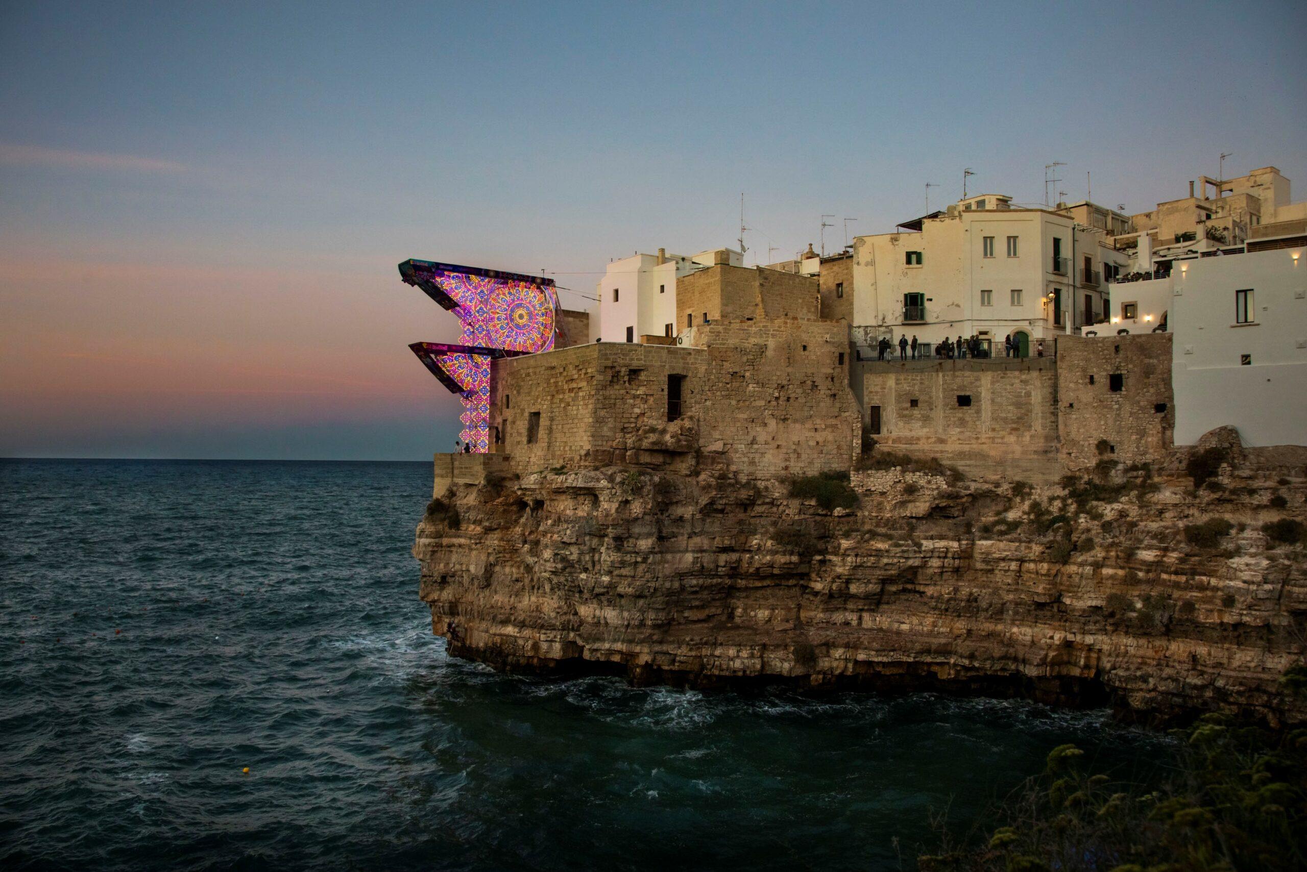 polignano a mare – luminarie salentine – La Terra di Puglia