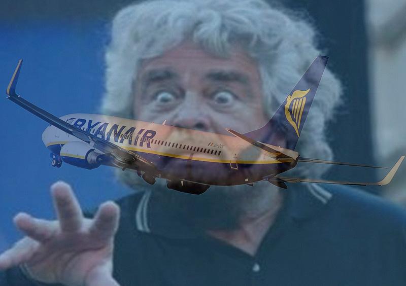 Ryanair-beppegrillo