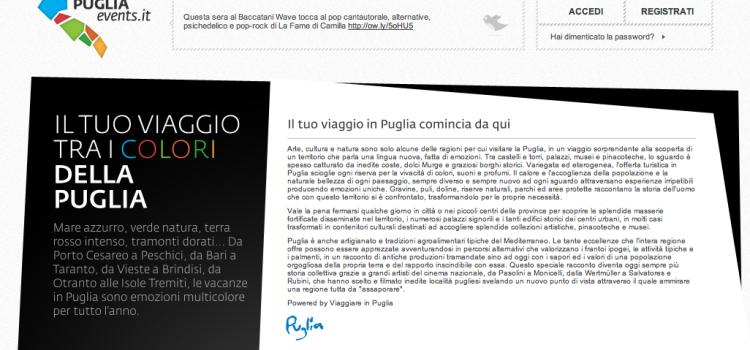 Pugliaevents, la Regione Puglia e la concorrenza Sleale