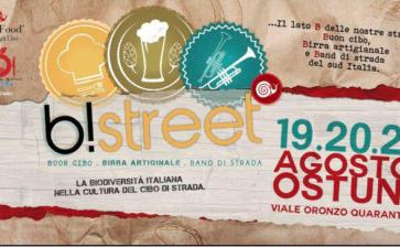 Ostuni, al via B!Street, cibo di strada sotto le stelle