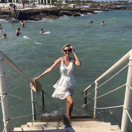 Ivanka in Puglia