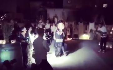 Madonna balla la pizzica in Puglia