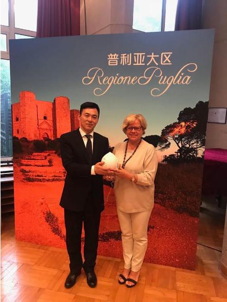 I nostri Pumi sbarcano in Cina con la Regione Puglia