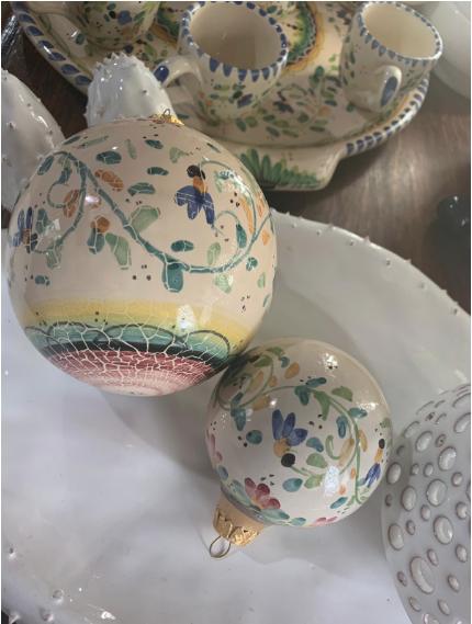 Palline di Natale Ceramica – La Terra Di Puglia
