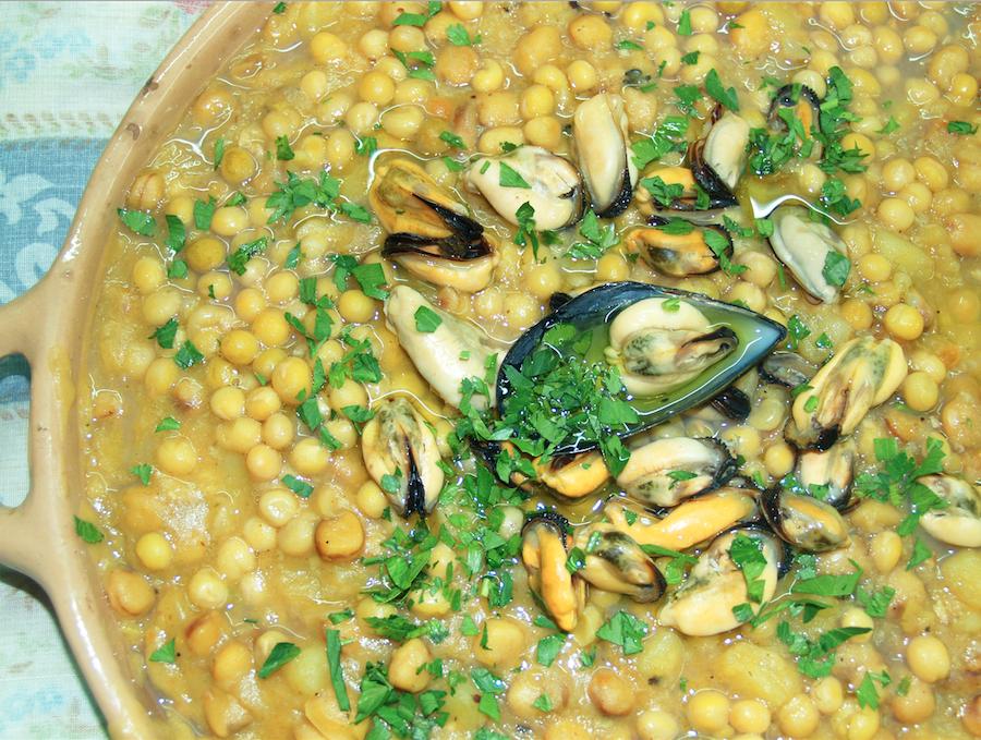 pisello nano e cozze tarantine - La Terra Di Puglia