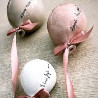 Palloncini di ceramica bomboniere - La Terra di Puglia