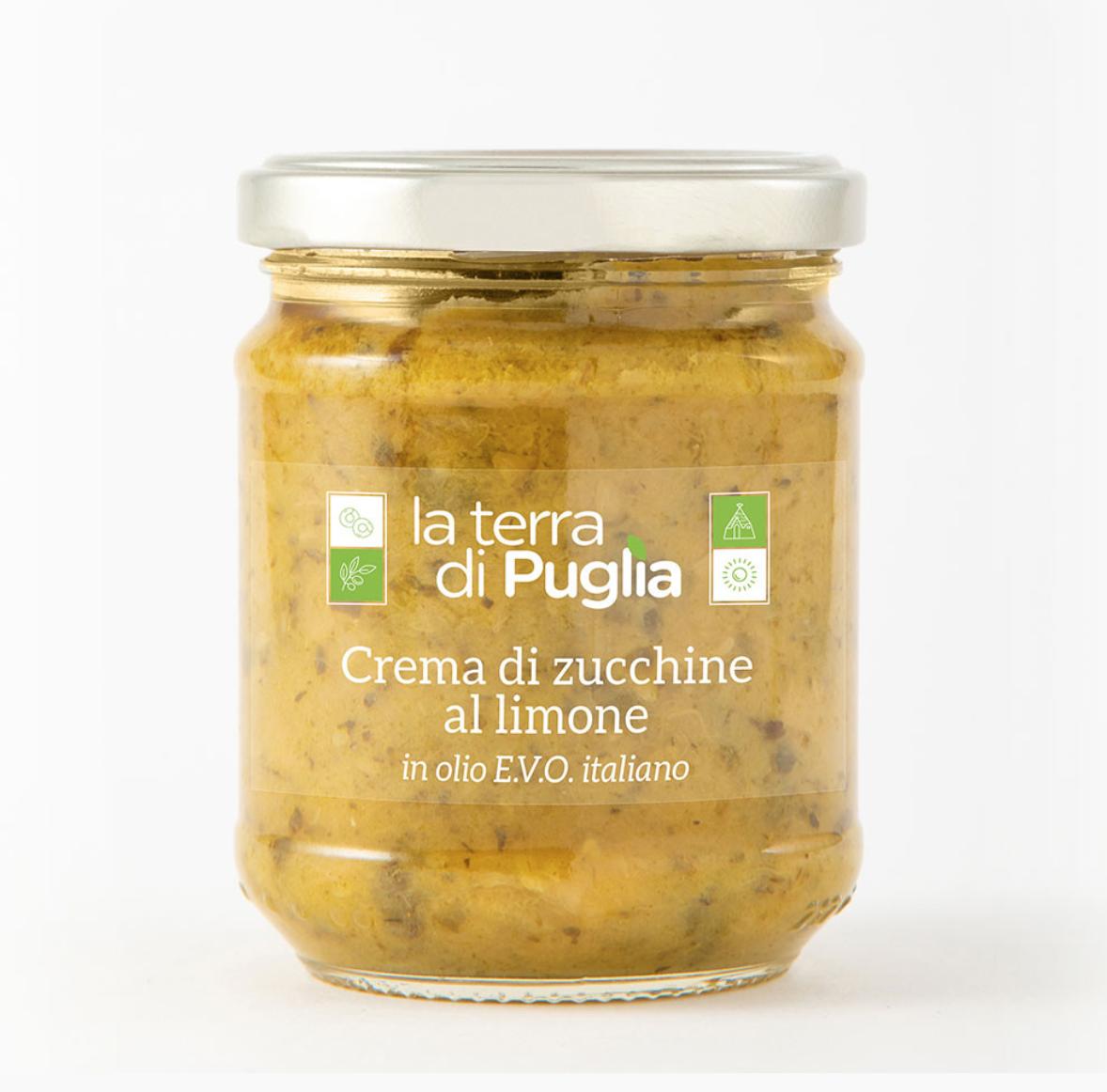 ingrosso online, crema di zucchine al limone – La Terra di Puglia
