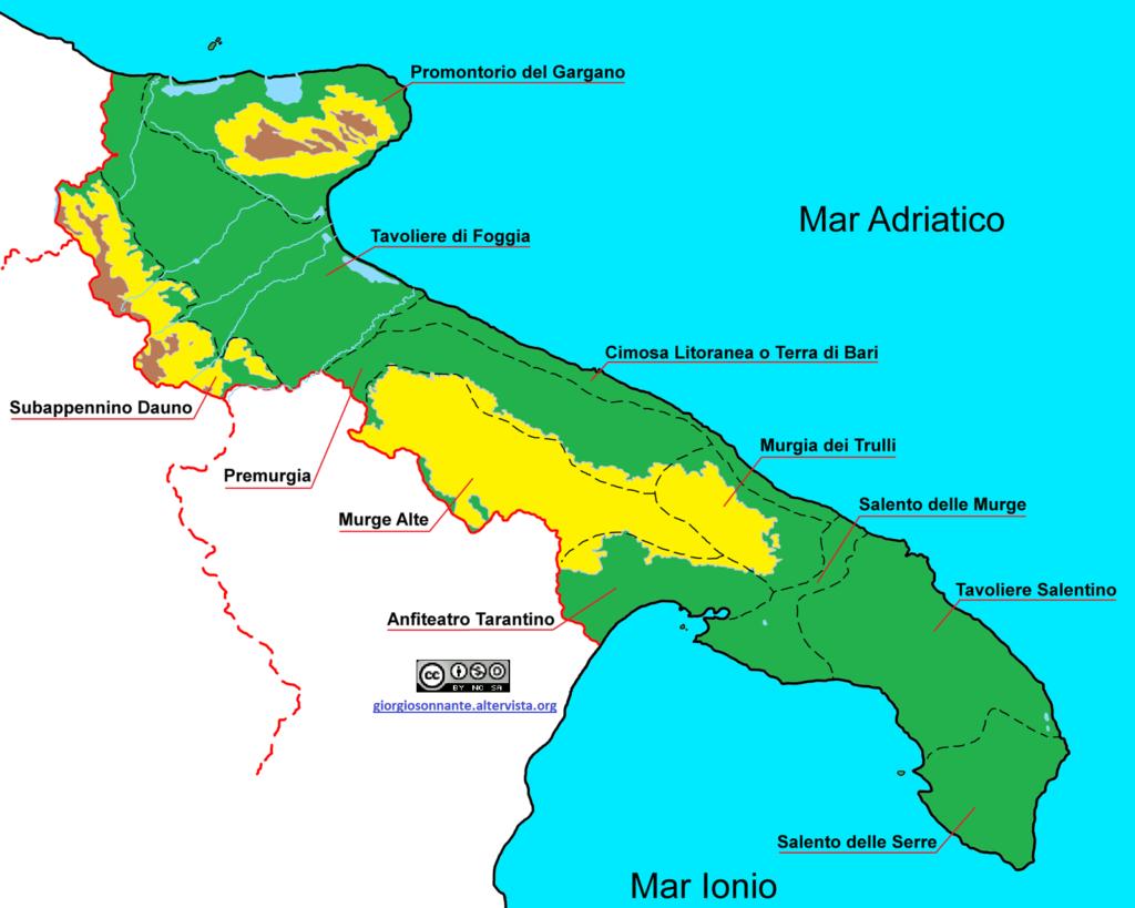 coste pugliesi - La Terra Di Puglia