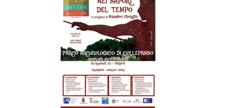 A Taranto l'evento Viaggio nei sapori del tempo