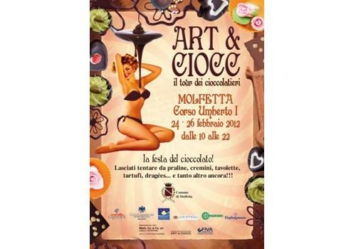 La quarta edizione di Art e Ciocc a Molfetta
