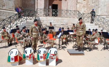 A Bari la Banda della Brigata Pinerolo