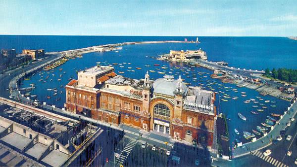 Vista di Bari dall'alto