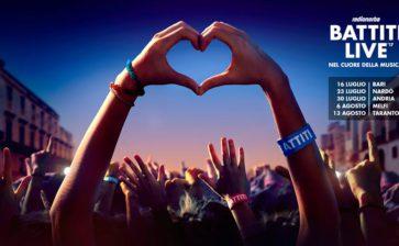 L'appuntamento con Battiti Live 2017