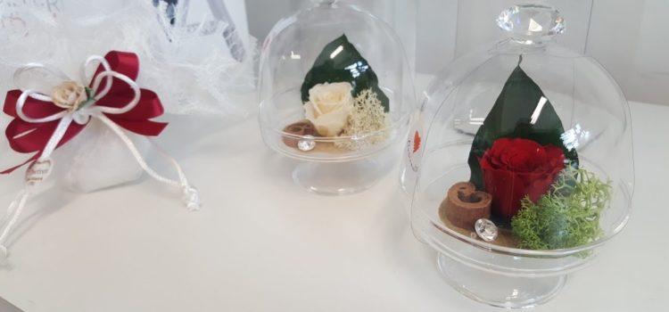 Allestimenti Floreali con rose stabilizzate per Matrimoni nel Salento