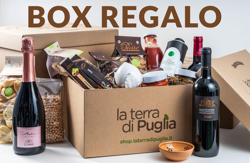 BOX Regalo dalla Puglia