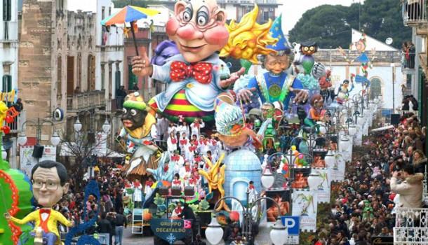 Il Carnevale di Putignano: il più lungo in Europa