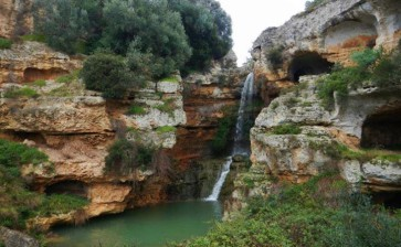 Lo splendore delle Cascate in Gravina di Riggio Grottaglie