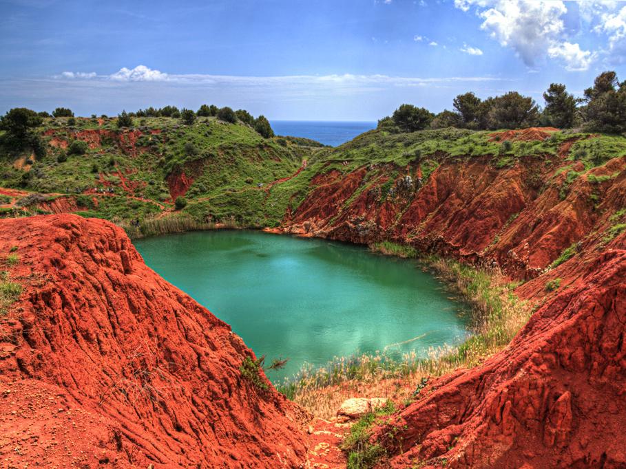 cava di bauxite- Spinazzola - La terra di Puglia