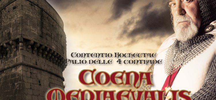 A Rocchetta Sant'Antonio Cena Medievale, Incendio al Castello e Palio della Rocca