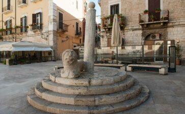 Le colonne della vergogna in Puglia