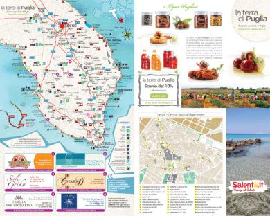 Scarica la Cartina del Salento in PDF