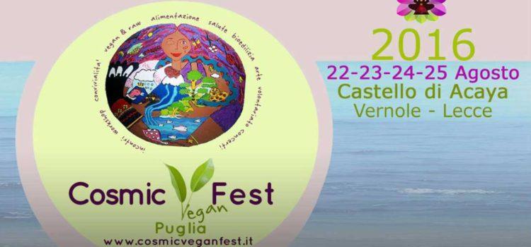 A Vernole l'appuntamento con il CosmicVeganFest – Puglia