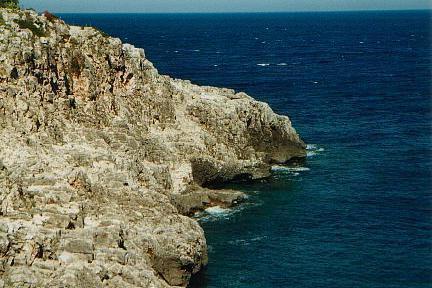 Costa rocciosa Otranto