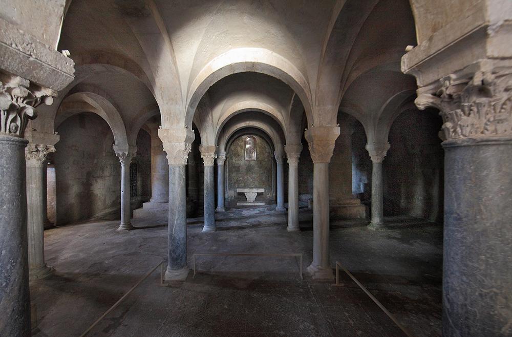 cripta santa maria maggiore siponto