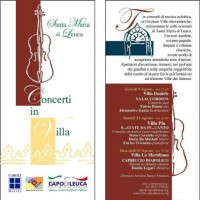 concerti in villa 2012
