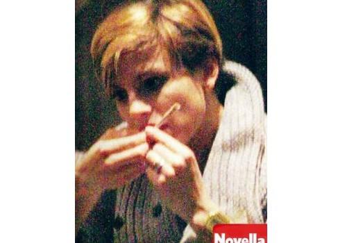 Emma Marrone dicono, scovata con uno spinello ?