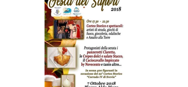 A Casamassima torna la Festa dei Sapori – Street Food Fest