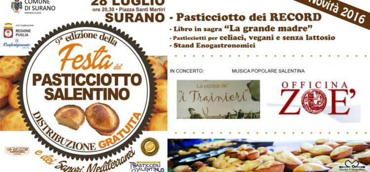 La nona edizione della Festa del pasticciotto e dei sapori mediterranei
