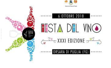 La trentunesima edizione de la Festa del Vino di Orsara