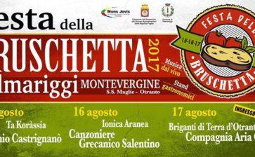 La Festa della Bruschetta 2017 in provincia di Lecce