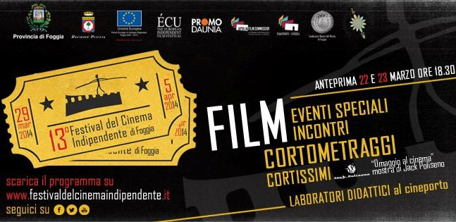 Il tredicesimo Festival del Cinema Indipendente di Foggia