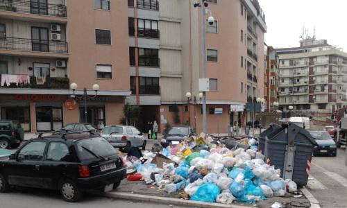 Foggia emergenza rifiuti