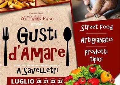 Al via Gusti d'Amare a Savelletri di Fasano