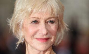 """Helen Mirren """"bloccata"""" negli States dal COVID19, sogna il Salento"""